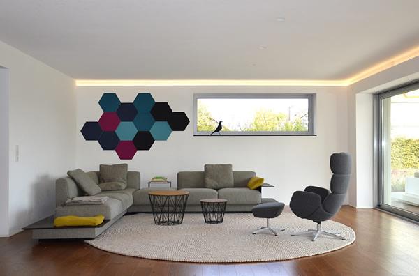 Wohnzimmer Hexa