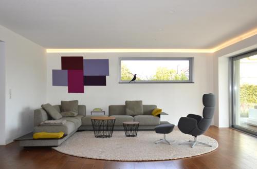 Wohnzimmer Pinnwand
